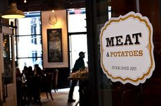 Meat & Potatoes...  PITTSBURGH  (Downtown)  649 Penn Avenue 15222 412.325.7007    Heavy and delicious food.  I cannot avoid the bone marrow appetizer.  Reservations recommended.