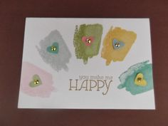 "Stampin up Set "" Happy Watercolor """