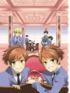 Ouran High School Host Club,by Bisco Hatori Host Club Anime, Ouran Host Club, Otaku, Ouran Highschool, The Ancient Magus Bride, Rich Family, Anime Kawaii, Kawaii Chan, High School Host Club