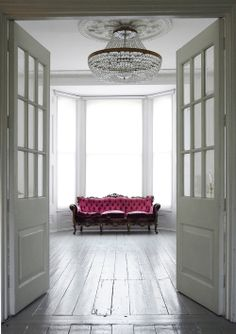 Victorian House in North London with Eclectic mix of furniture..