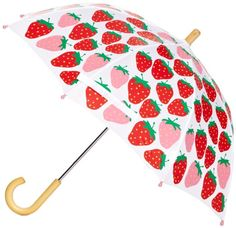 Hatley Little Girls' Umbrella Strawberry Kitchen, Strawberry Milk, Strawberry Shortcake, Red Aesthetic, Character Aesthetic, Gay Pride, Hello Kitty Haus, Strawberry Pictures, Poster Print