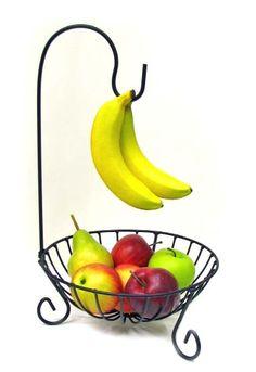 Fruit Bowl & Banana Holder