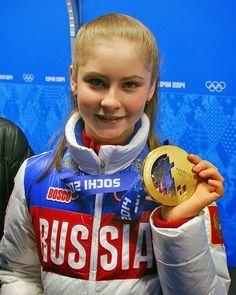. Olympic Champion❤️ @sunnylipnitskaya #JuliaLipnitskaya