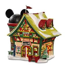 Department 56 Mickey Mouse Christmas Village