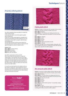 Knit Today Issue 96 2014 - 轻描淡写 - 轻描淡写 Garter, Knit Crochet, It Cast, Stitch, Knitting, Create, How To Make, Patterns, Block Prints