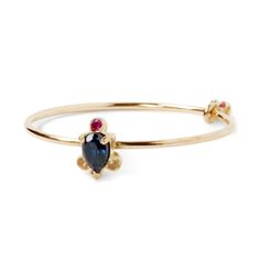 little emblem gold ring blue sapphire LE-AR188 #littleemblem #ring #gold #sapphire #bluesapphire #yellowsapphire #ruby  #pearshape #em #emgrp