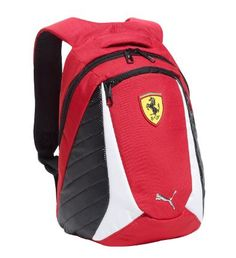 Ferrari Replica Small Backpack, rosso corsa