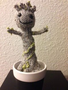 --> At long last the knitted Baby Groot Pattern!!! For those of you who maybe don't know what a Baby Groot is, you have 3 options. ...