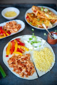Best Lunch Recipes, Healthy Recipes, Lunch Wraps, Happy Foods, Wrap Recipes, I Love Food, Soul Food, Food Dishes, Mexican Food Recipes