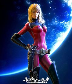 Kei Yuki - Space Pirate Captain Harlock (movie 2013)