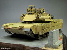 M1A2SEP 1/35 Scale Model