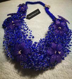 Lobelia necklace made by Manufaktura Leo Leo, Jewelry Making, Handmade, Fashion, Moda, Hand Made, Fashion Styles, Jewellery Making, Make Jewelry
