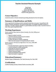 12 Best Teacher Resume Examples Images Sample Resume Teacher