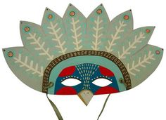 Paper Animal Masks from Zid Zid Kids Paper Animal Masks by Zid Zid ...