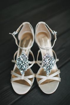 We love these shots! We love shoes!!! Make sure you pick a pair that fit your personality and have fun with it! www.neoartphotography.com #weddings #shoes #bling #dancing