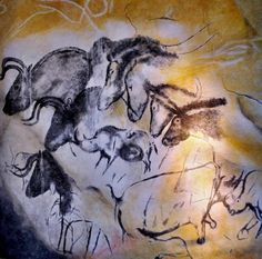 Drawings in the Chauvet Cave | © Thomas T./Flickr