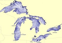 NOAA/GLERL Great Lakes Surface Currents Map - http://www.glerl.noaa.gov/res/glcfs/currents/