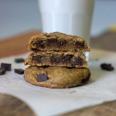 Single serve buckwheat cookies, finding this recipe from Detoxinista was the best discovery I've made! They're delicious and sooo satisfying