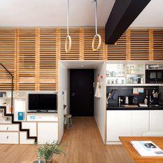 Un apartamento con mucho diseño en 25 m²
