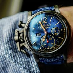 Graham releases four vintage-inspired models -- the Graham Chronofighter Vintage Aircraft Ltd. watches.