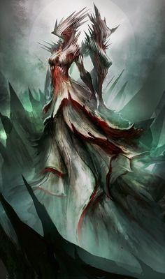 Blood Maidens by theDURRRRIAN.deviantart.com on @deviantART