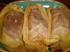 Tamales de frijol con pollo | Sazón del Corazón