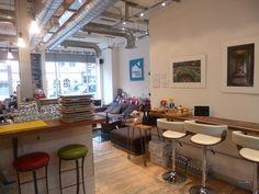 Timberyard coffee lounge, Old Street, London