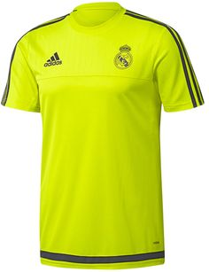 c4ebe0bee Adidas boys real  madrid adizero green t shirt top tee  training 15-16