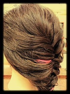 Loose Fishtail Braid! Formal or an everyday look....Follow Chelsea and Jordan for more! At 2nd To None in Florence,SC!