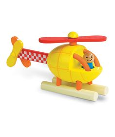 Shop for Janod Magnetic Helicopter, a wooden helicopter toy which you take apart and rebuild as many times as you like thanks to the built in magnets, once built you can fly it around. Preschool Block Area, Take Apart, Baby Kind, Rubber Duck, Tigger, Transportation, Kit, Toys, Building