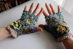 残糸そして短い糸     leftover and short yarnsの画像:糸始末な日々 Thread&Yarn Handing Days