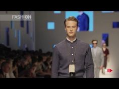 CANALI Menswear Spring Summer 2016 Milan by Fashion Channel