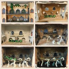 Crafts -The Mouse Mansion - Making of the haunted house