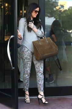320979e37df0 Khloe Kardashian in Current/Elliott. Shop the brand online at Cocaranti  Camo Skinny Jeans
