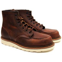 Red Wing Heritage Moc Toe Boots 1907