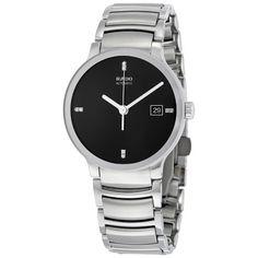 426ade3cb68f Rado Centrix Jubile Automatic Black Dial Men s Watch R30939703