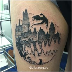 Harry Potter Tattoo by Alex Heart  Instagram: @thisisalexheart