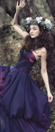 Flower Maiden Fashion Editorial ~ Gladys Ng - Fashion Photography