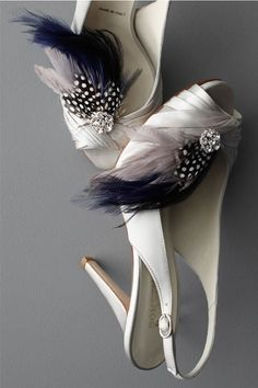 f920366495c8 The Wedding Shoes with feathers Designer Wedding Shoes