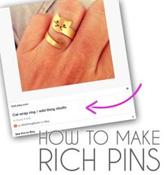 """Pinterest's """"rich pins"""" and you: how to get that nifty info into your pins"""