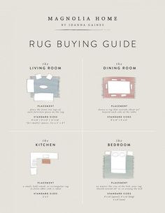 Rug Mistakes and How to Fix Them - Marie Flanigan Interiors - Joanna Gaines for Magnolia Home - Rug Guide Magnolia Homes, Magnolia Home Rugs, Magnolia Market, Rugs In Living Room, Home And Living, Living Room Decor, Bedroom Area Rugs, Rug For Bedroom, Small Living