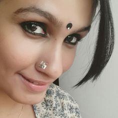#mayuri nose pin