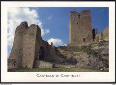 Schlösser - Italia Italy: Castello di Carpineti [viaggiata] • Storia postale [Bando del Granduca di Toscana, 2016]