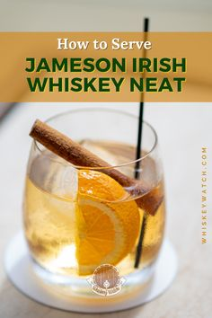 Obviously a neat whiskey means you will not put any other liquid in it, or even add rocks in the glass, but this doesn't mean you can't make the best out of it, even if it means not adding anything else. If you want the glass to look fancy, here are my recommendations on how to serve whiskey neat, and what to avoid. Do you have other ideas as well? Share them with me. #whiskeywatch #jamesonwhiskeydrinks #jamesondrinks #jamesonirishwhiskeydrinks #jamesoncocktails #simplejamesondrinks