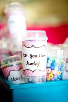 Or a craft for the road. | 39 Slumber Party Ideas To Help You Throw The Best Sleepover Ever