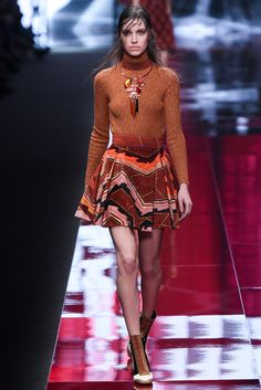 Just Cavalli - Loved the creativity of this collection. From the furs to the prints there was a lot to love in this show! thestyleweaver.com Fall 2015 Ready-to-Wear