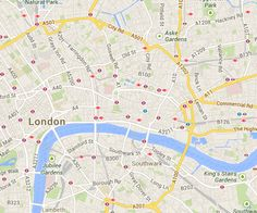150 Best Mapping London images