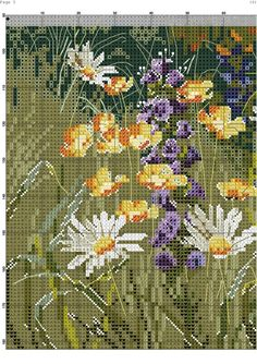 Seaside 7 Cross Stitch Cards, Cross Stitch Flowers, Cross Stitch Designs, Cross Stitch Patterns, Cross Stitch Landscape, Cross Stitch Pictures, Sewing Stitches, Textile Art, Pixel Art