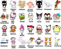 List of Hello Kitty characters