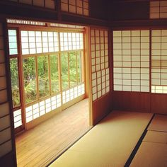 A traditional tatami room